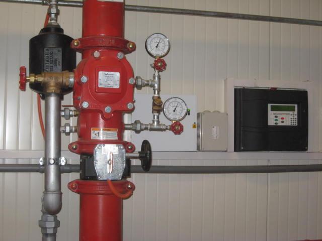 sisteme de stingere de incendiu